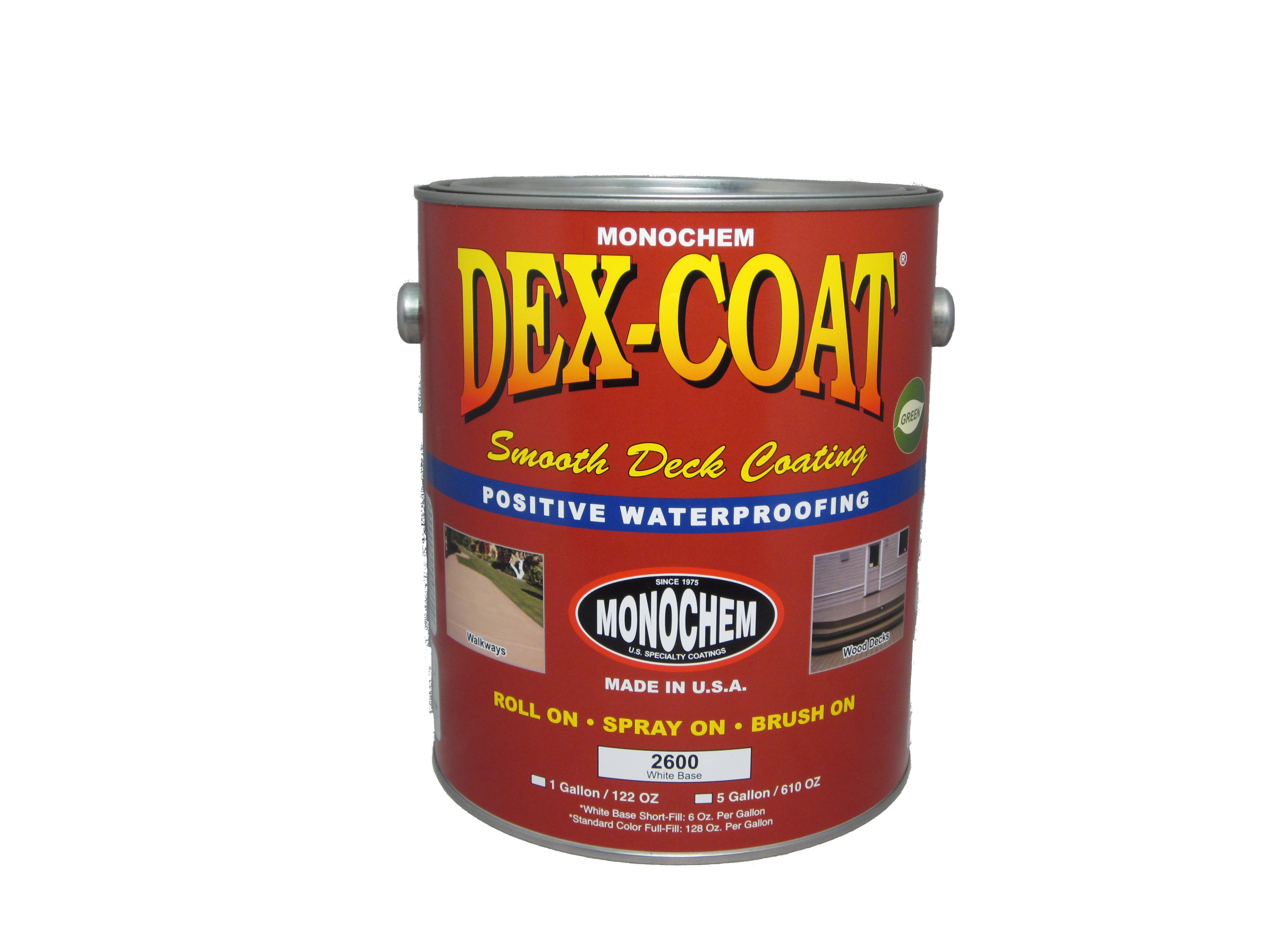 Dex Coat Smooth Deck Monopole Inc